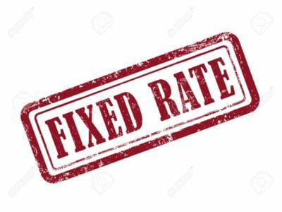 Guarantor Loan Fixed Rate red stamp