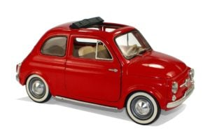 500 pound loans fiat 500 red car
