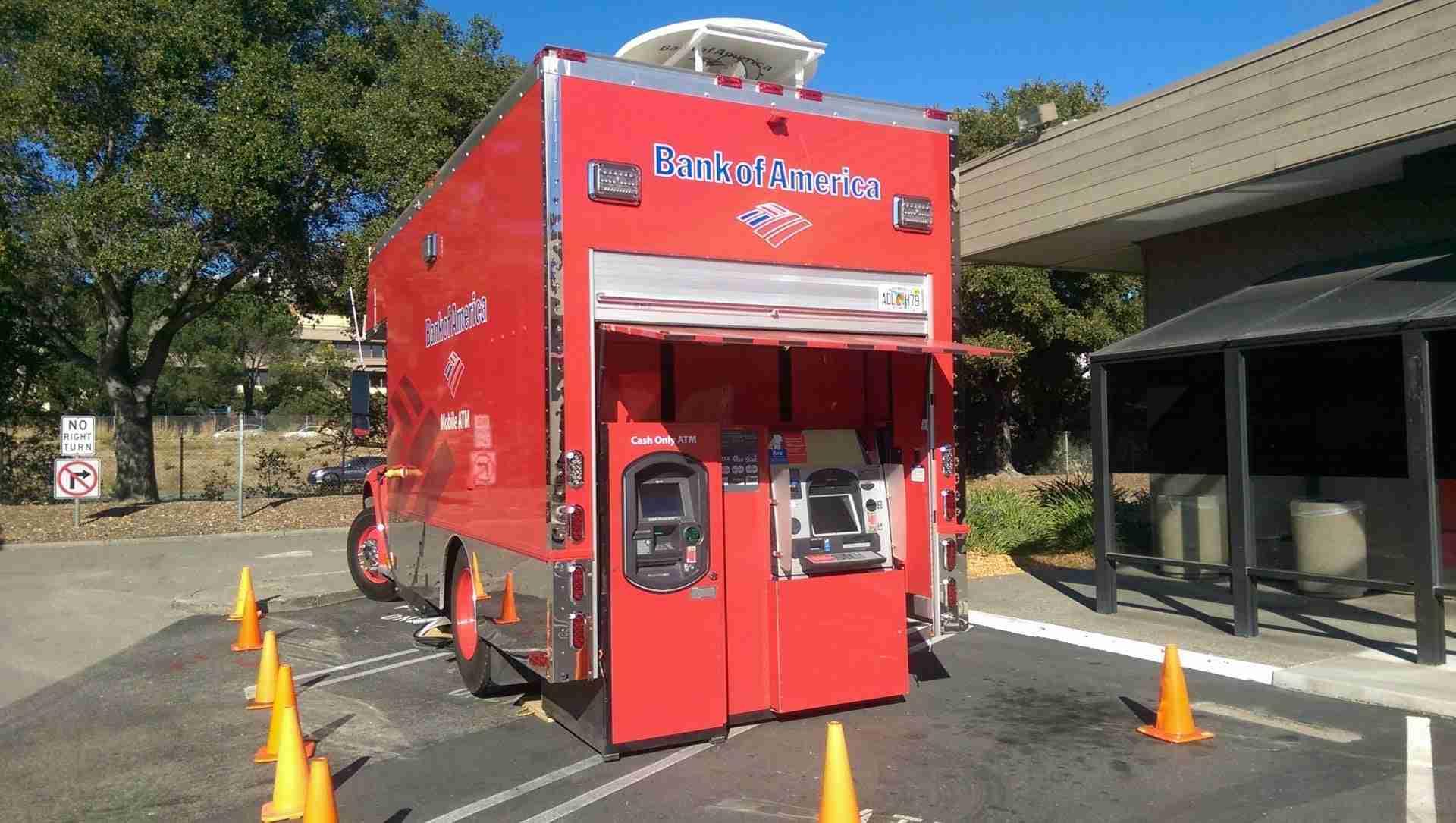 auto bank finance mobile bank cash machines