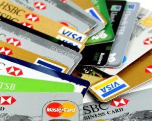 bad credit credit cards instant approval pile of visa and mastercard cards