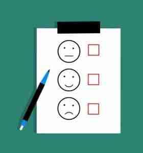 car finance for poor credit rating happy sad rating clip board
