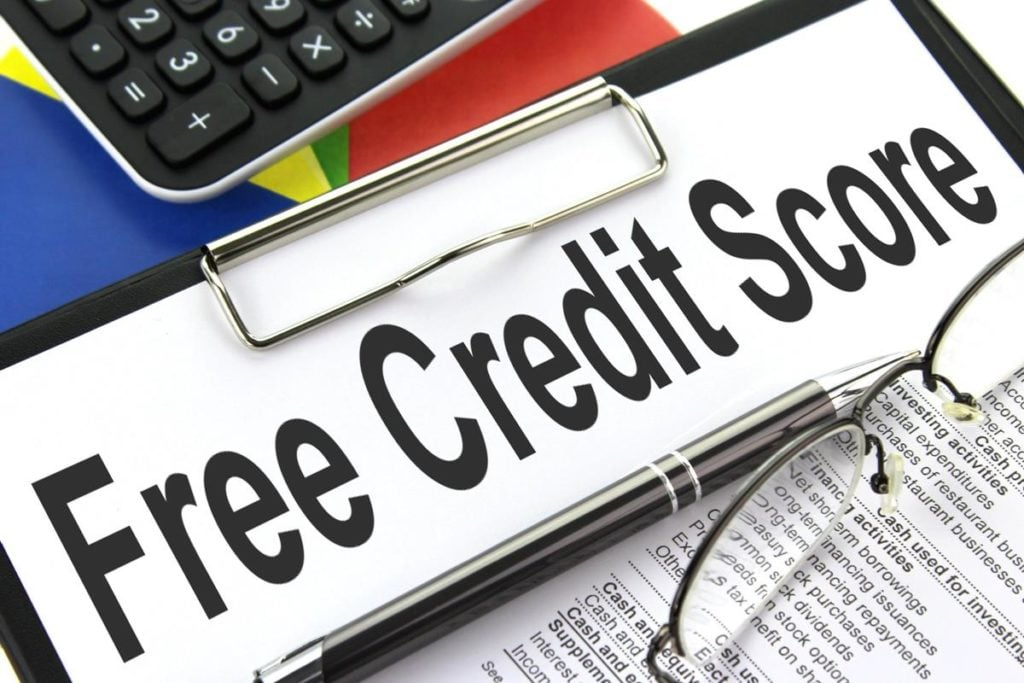 check credit score online free of charge clipboard