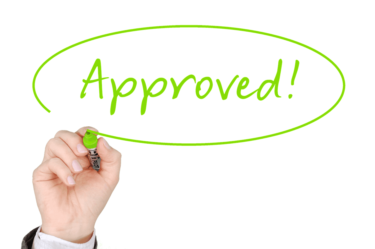 loan accepted and approved quickly