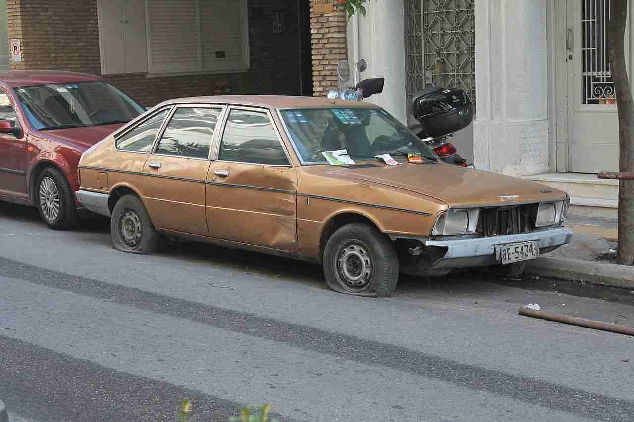 poor credit car loans abandoned vehicle