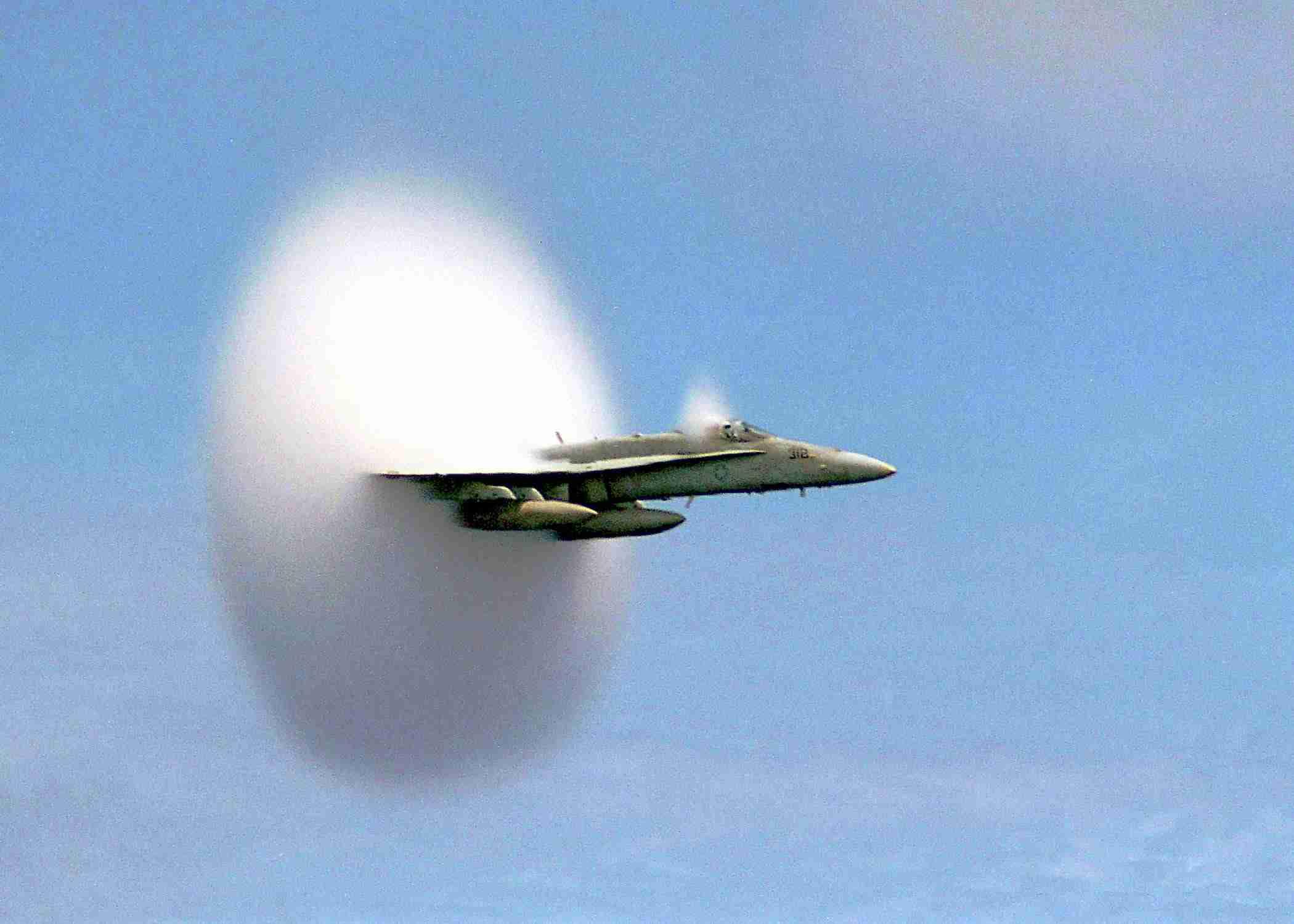 speed loan finance hornet plane breaking sound barrier