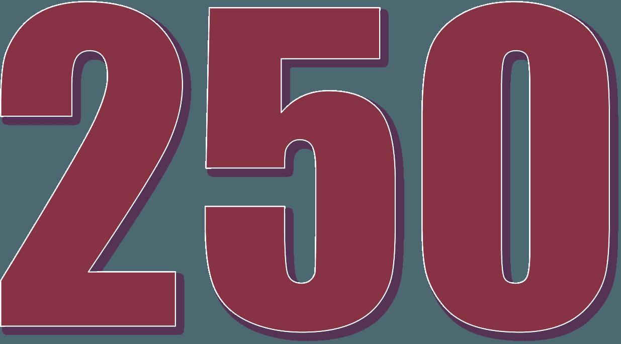 250 pound loans sign