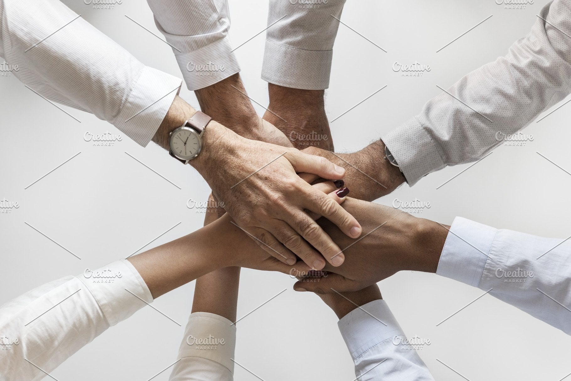 best joint loans many hands linked together