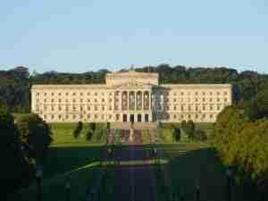 loans northern ireland stormont castle government building belfast