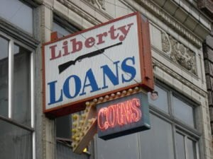 12 month loans for bad credit no guarantor liberty loans seattle shop sign