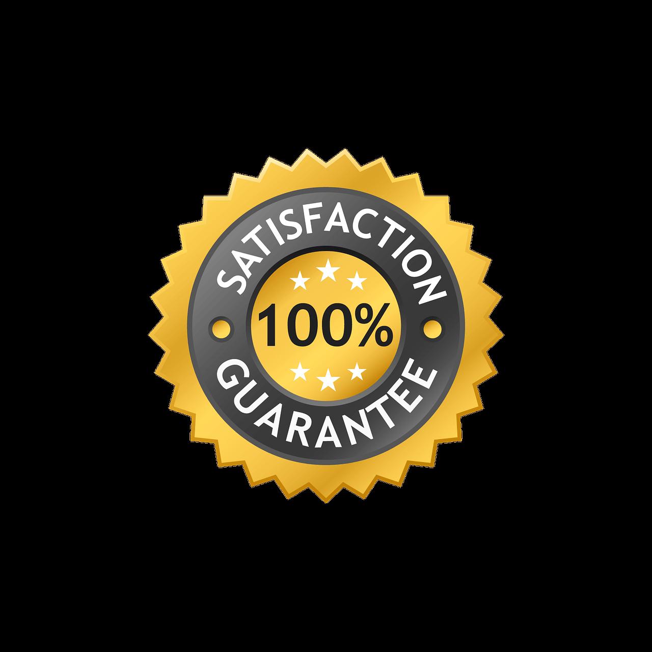 george banco guarantor loans 100 percent satisfaction guarantee symbol