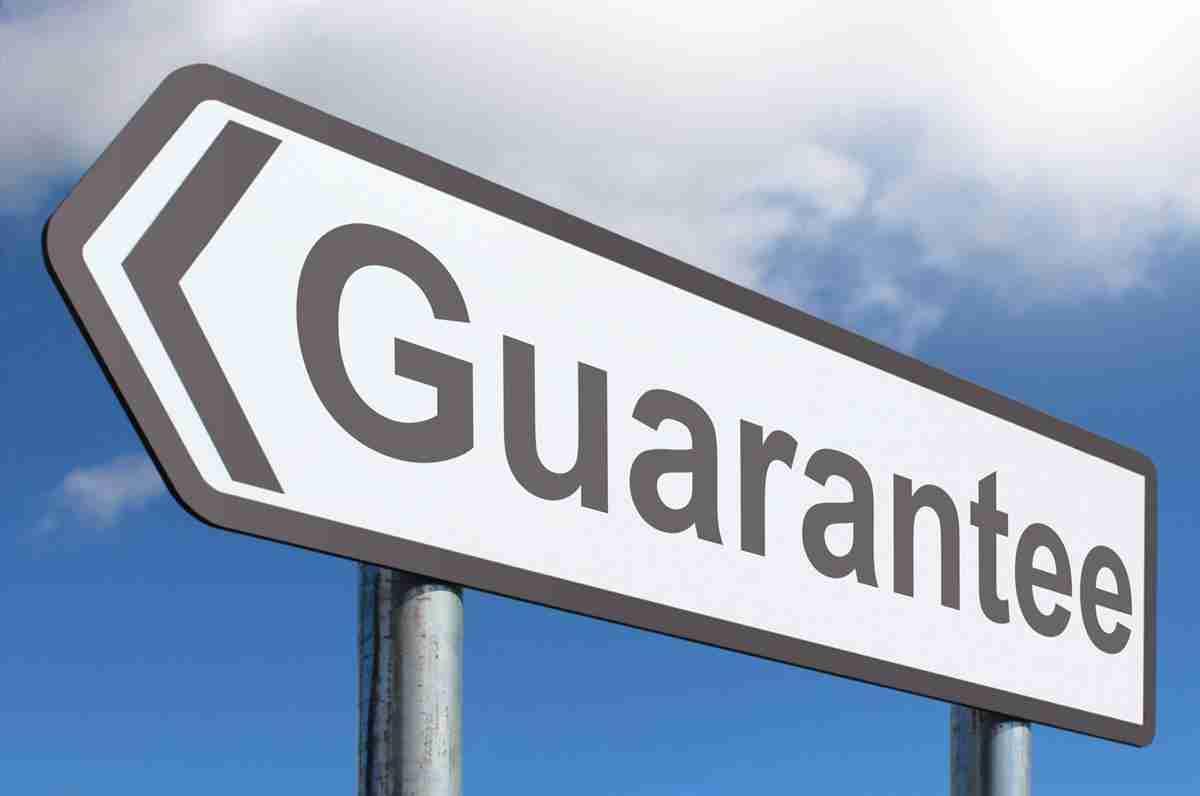 guarantor my loan guarantor loans road sign