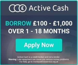 apply now active cash loan application banner
