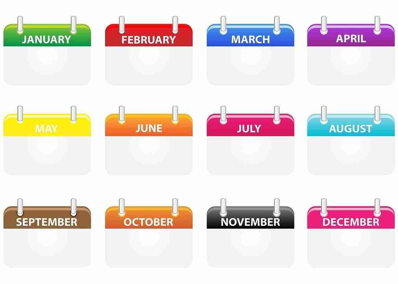3 month loans calendar