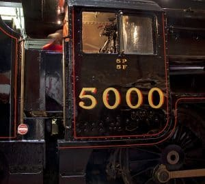 5000 Pound Loans black steam train