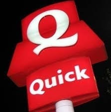 Quick Loan No Guarantor red quick sign