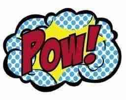pow! comic explosion