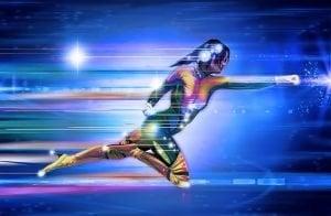 Fast Payday Loans superhero girl