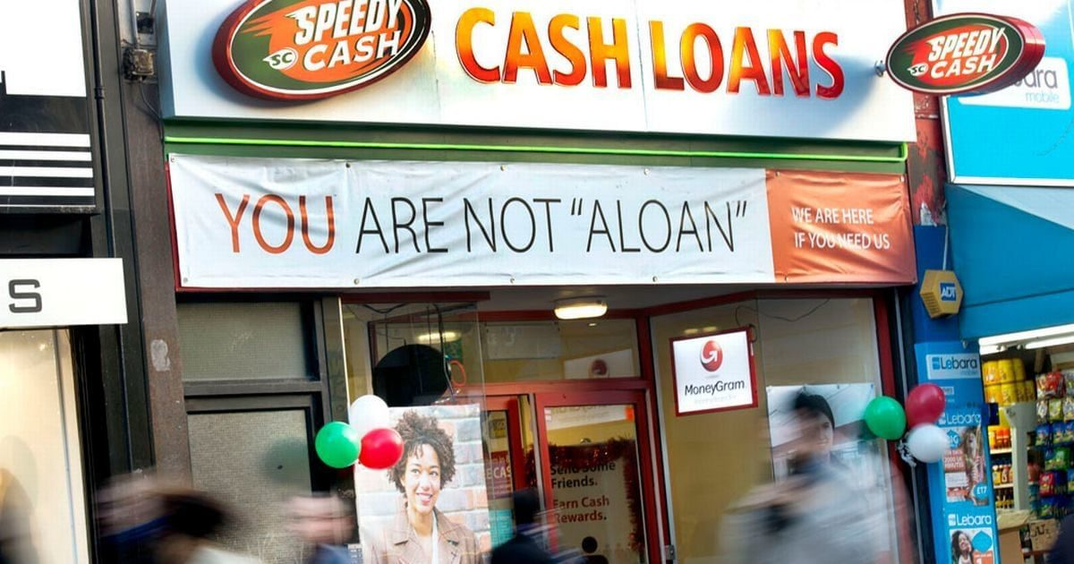 high street loans bad credit payday loan company shop front