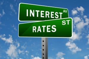 Interest Rates Held At 0.25% Is Great News For Home Owners street sign post