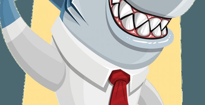 Loan Shark Definition cartoon shark