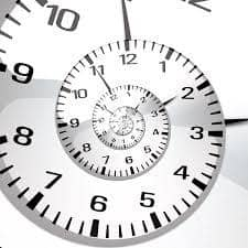 Money in Minutes clock face