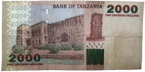 2000 shillings note