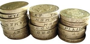 personal loans poor credit 3 piles of pound coins