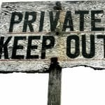 private money lenders for personal loans private keep out timber sign