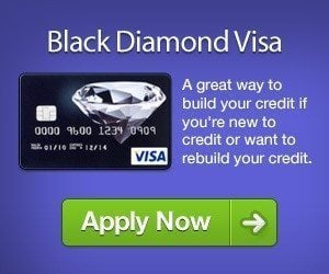 the black diamond visa credit card