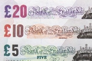 short term payday loans british banknotes