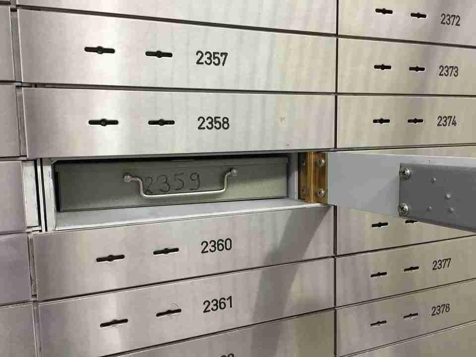 Tenant Deposit Loans bank safe deposit box