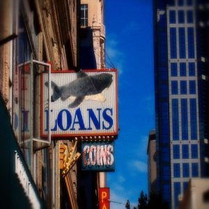 Where Can I Find a Loan Shark Online loan sharks shop sign
